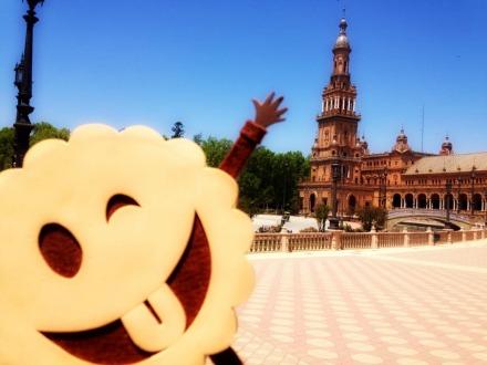 Carmiña en Sevilla