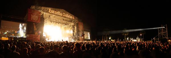 Panorámica del Festival de Ortigueira