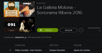 La playlist del Sonorama Ribera 2016