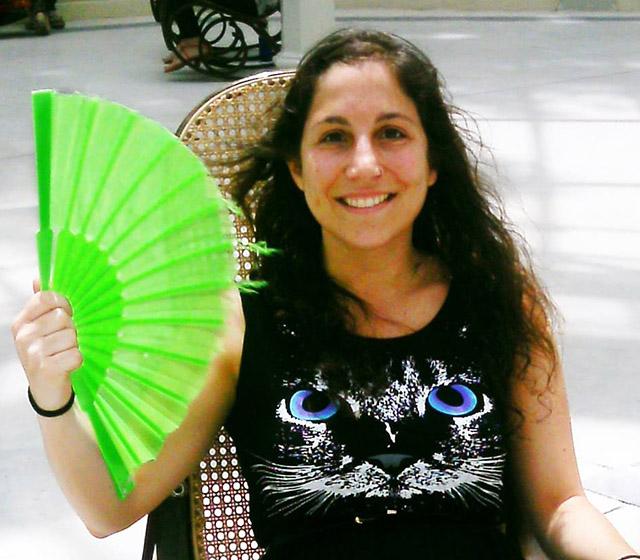 Laura Blanco, colaboradora de La Galleta Molona