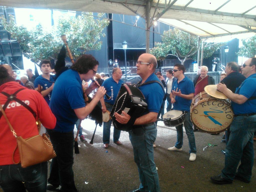 Música tradicional gallega.