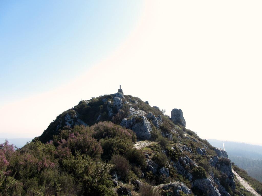 Cima del Pico Sacro.