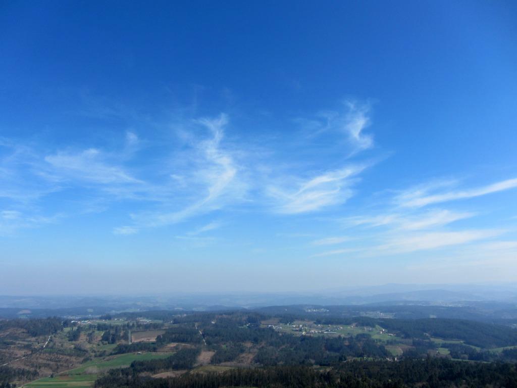 Vistas desde la cumbre del Pico Sacro