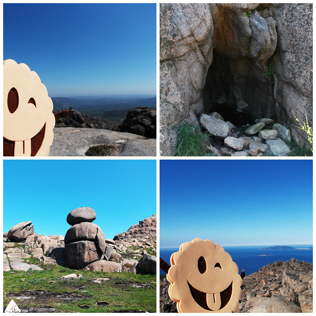 Pico Sacro, Cueva, Gigante... Monte Pindo.