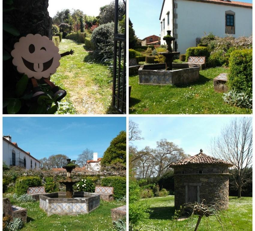 Jardines de la Casa Grande da Paínza.