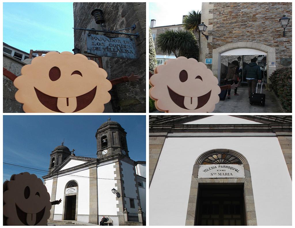 Parador de Vilalba e Iglesia de Santa María