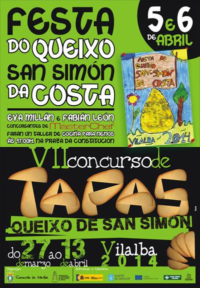 VII concurso de Tapas del Queso San Simón da Costa.
