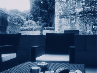 Cafetería del CEGAC, en Santiago de Compostela.