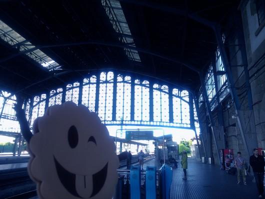 Estación de tren de Santiago de Compostela.