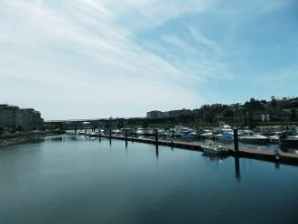 Puerto de Pontevedra.