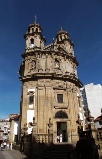 Santuario de la Peregrina, en Pontevedra.