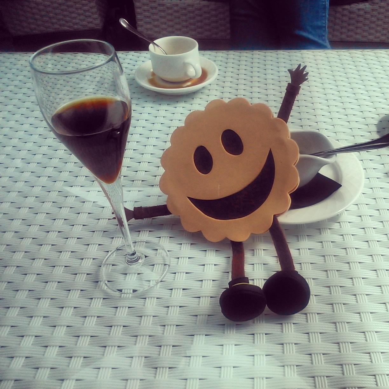 Momento café en las Bodegas Martín Códax.
