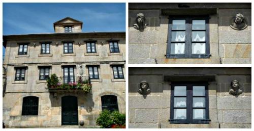 Casa de las caras en Pontevedra.