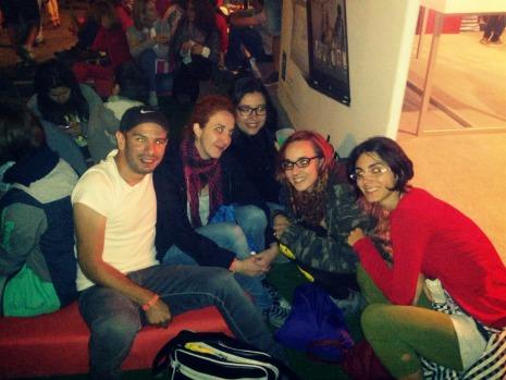 Gente maja en el Sonorama Ribera 2014