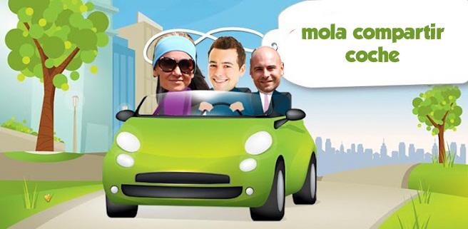 Compartir coche mola - Fotografía del blog Molaviajar
