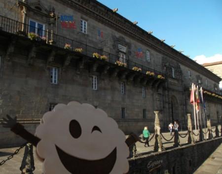 Hostal Parador dos Reis Católicos. En Santiago de Compostela
