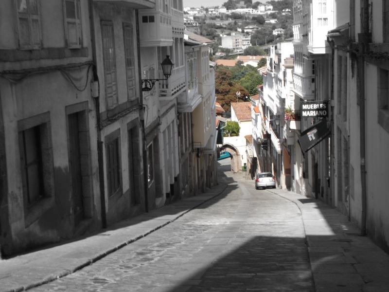 Rúa dos Ferreiros de Betanzos