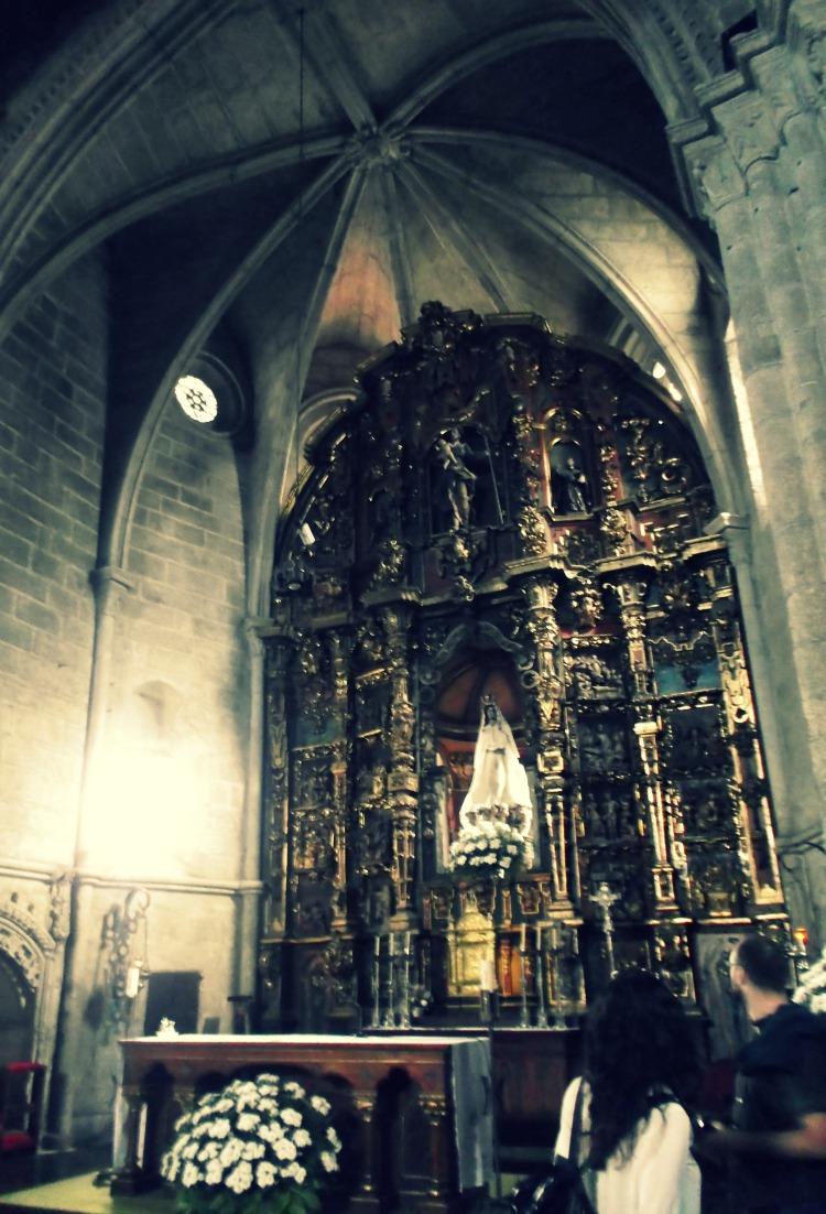 Iglesia de Santa María de Azogue de Betanzos