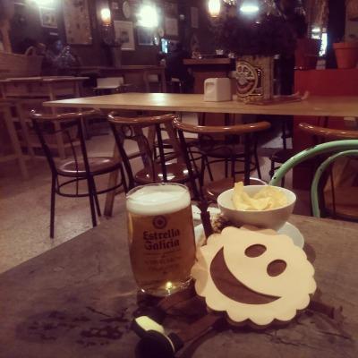 Bar La Flor en Santiago de Compostela
