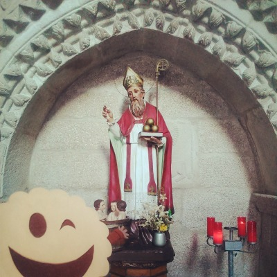 San Nicolás en la Iglesia de San Francisco de Betanzos