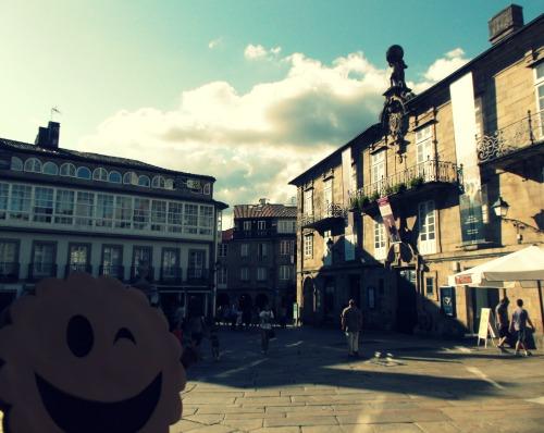 Plaza de O Toural, Santiago de Compostela