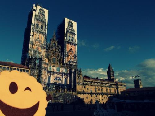 La Catedral de Santiago en la Plaza del Obradoiro