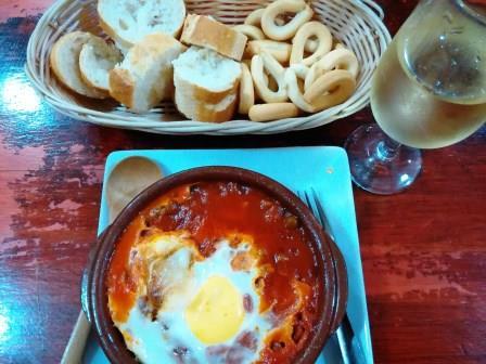 Huevo a la flamenca