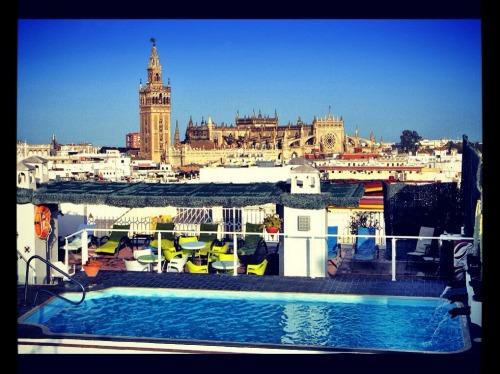 Sevilla desde el Hotel Bécquer