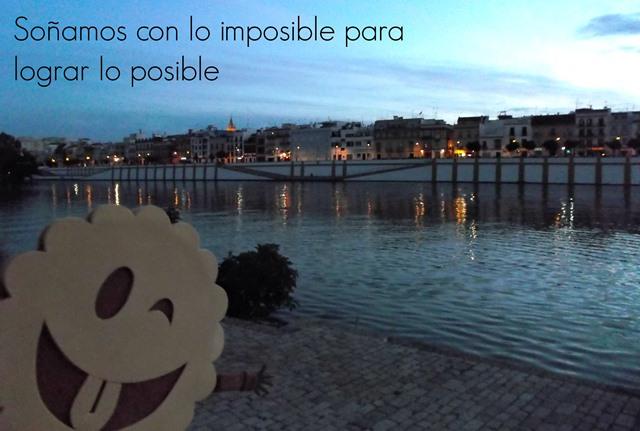 Soñamos con lo imposible para lograr lo posible
