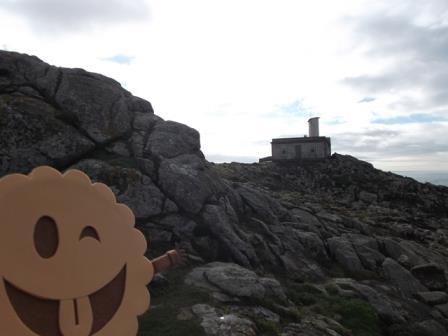 Paseando por las proximidades del faro de Corrubedo