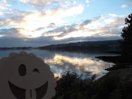 Maravillosas vistas desde los castros de Neixón