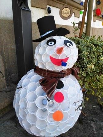 La decoración navideña de Rianxo nos sorprendió gratamente. Ecológica, sostenible y original