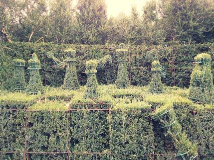 Jardín del Pazo de Oca