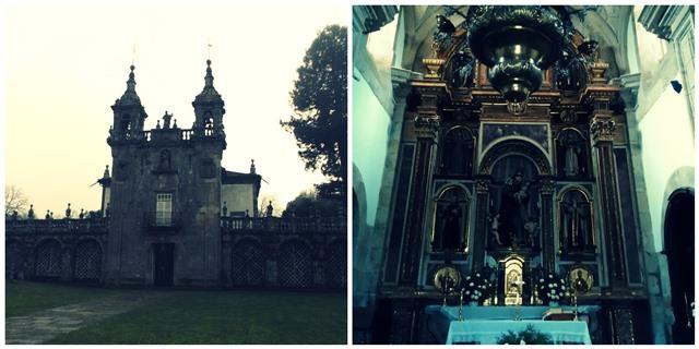 Iglesia de San Antonio de Padua, en el Pazo de Oca