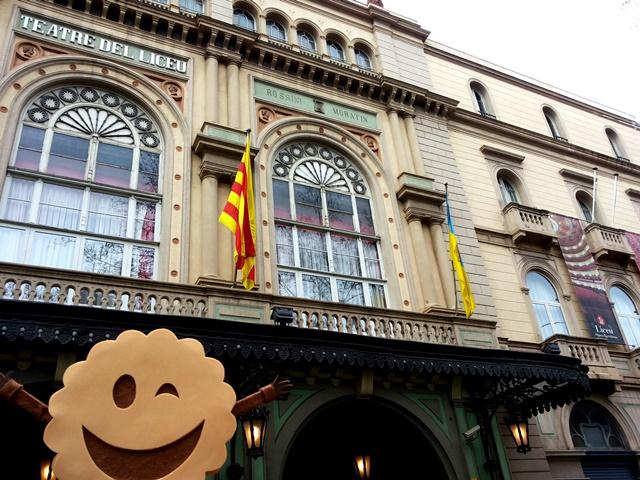 Teatro de El Liceu de Barcelona