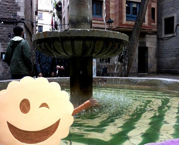 Fuente de la Plaza de Sant Felip Neri
