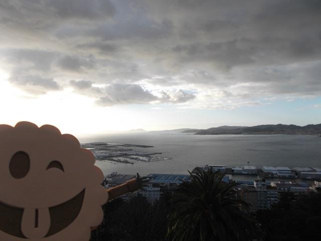 Vistas desde el Castro de Vigo