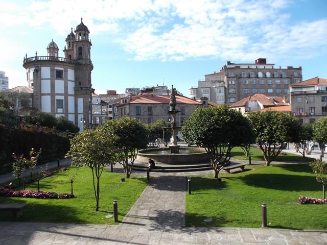 El santuario de la Peregrina, Pontevedra