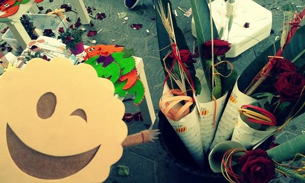 Sant Jordi, una experiencia molona en Barcelona