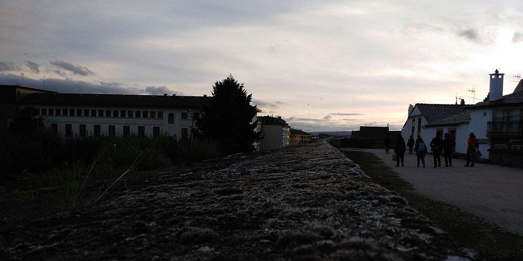 Foto Walk #InLugo15, en la muralla de Lugo
