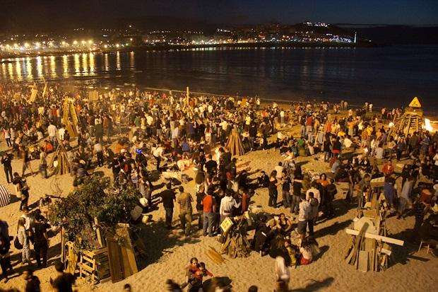 Noche de San Juan en A Coruña