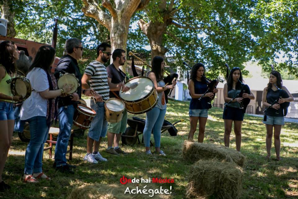 Falcatrueiros en el Festival Monterrosón - Fotografía de Xaime Cortizo