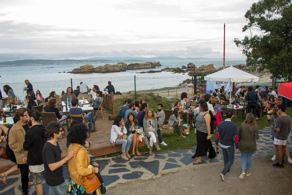 Estupendo ambiente en el Festival Ribeiro Son de viño