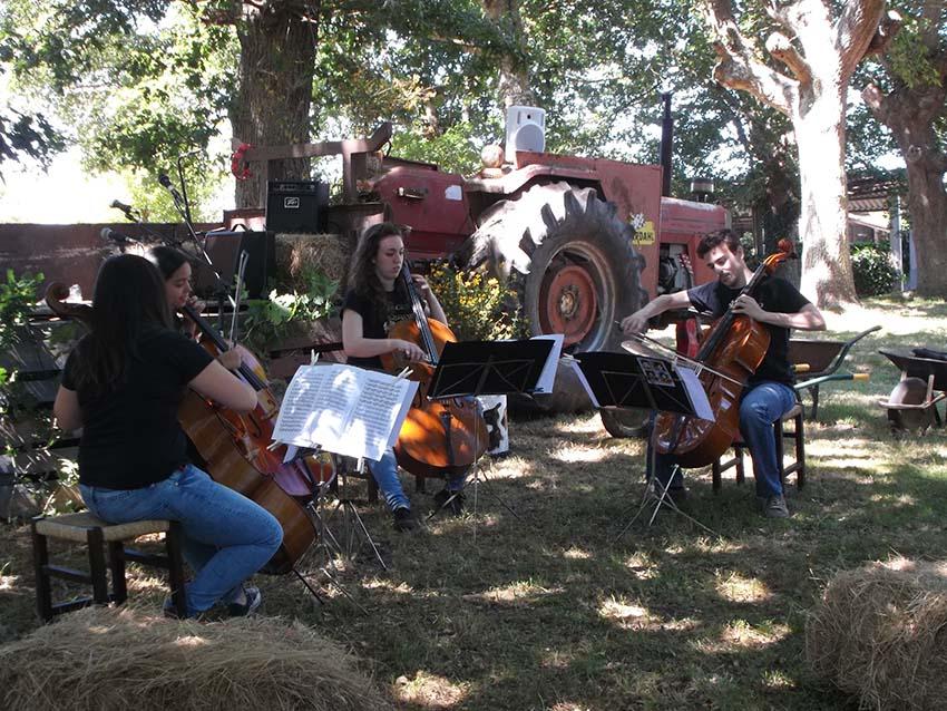 Soncello Quartet en el Festival Monterrosón