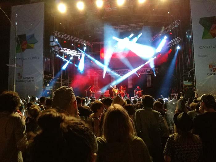 Concierto de Delorentos en el Festival Sonorama Ribera 2016