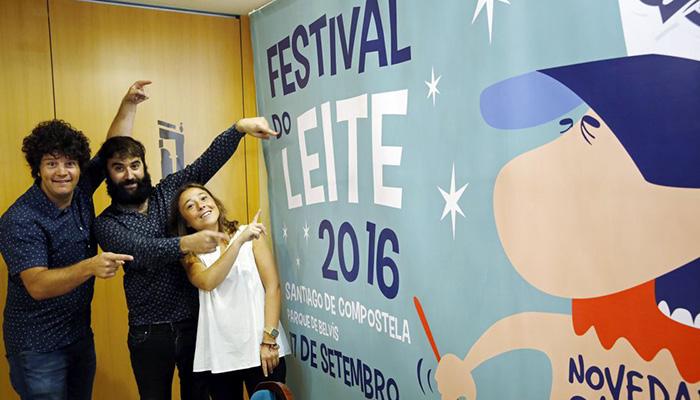El Festival do Leite 2016 se celebrará el próximo 17 de septiembre en Santiago de Compostela
