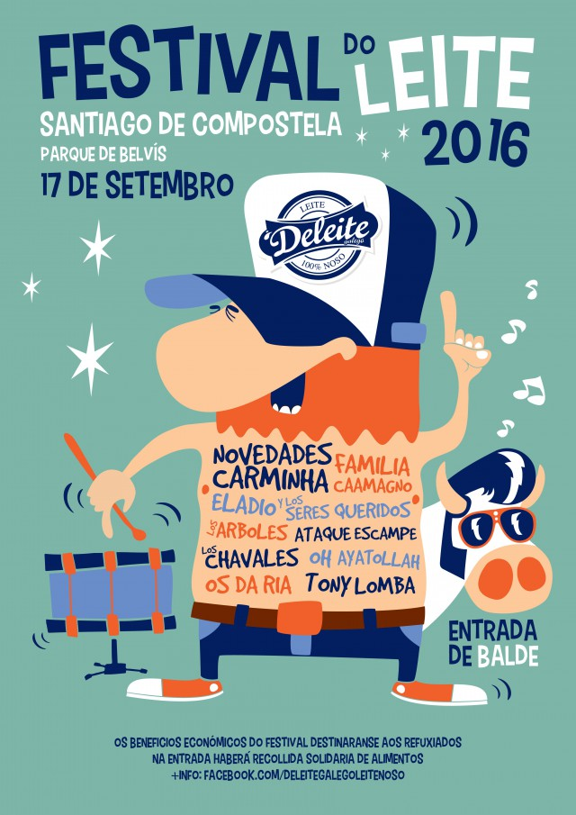 Una excelente iniciativa, Festival do Leite 2016