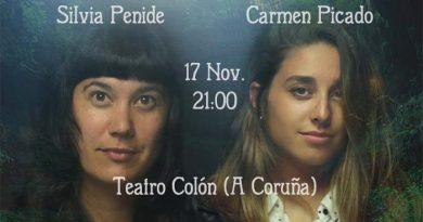 Silvia Penide y Carmen Picado en A Coruña