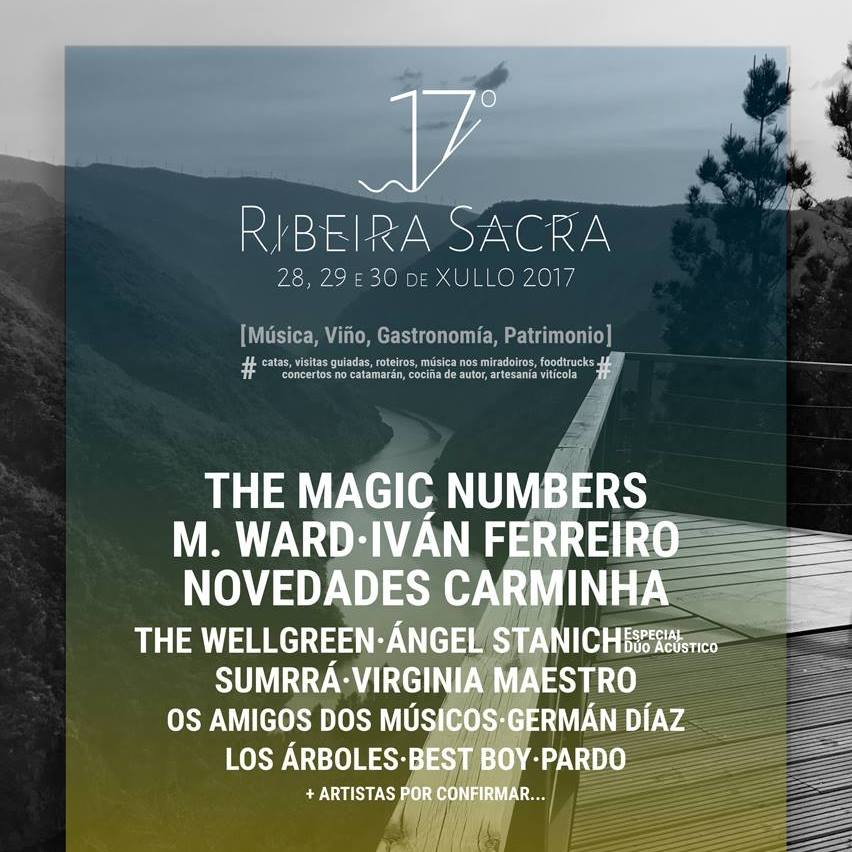 Ribeira Sacra Festival 2017: música, vino, gastronomía y patrimonio