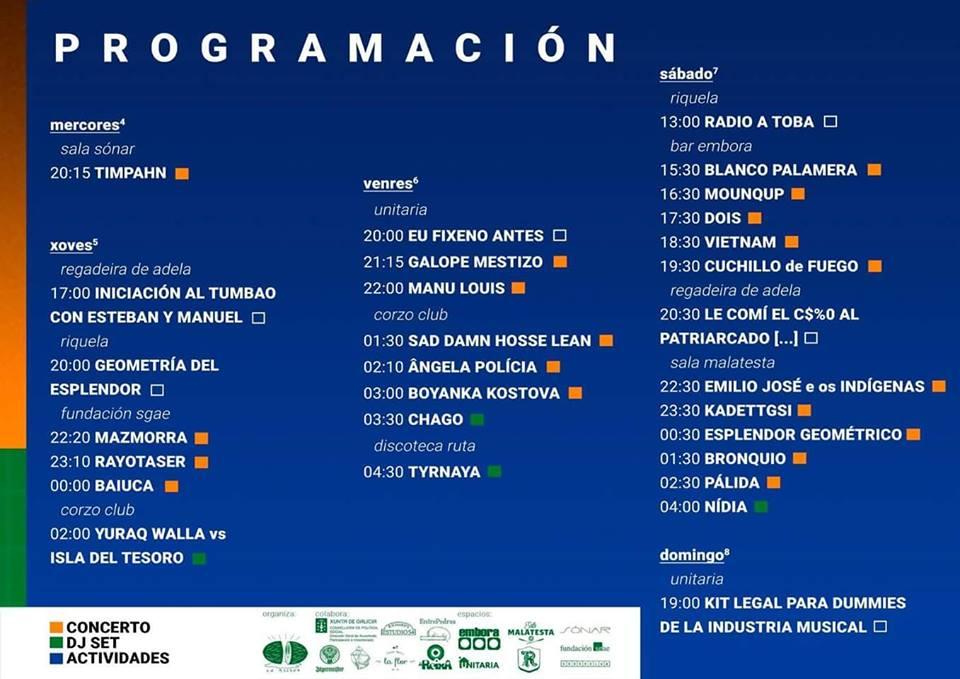Melona Fest: más de 20 actuaciones repartidas por toda la ciudad - cartel del festival